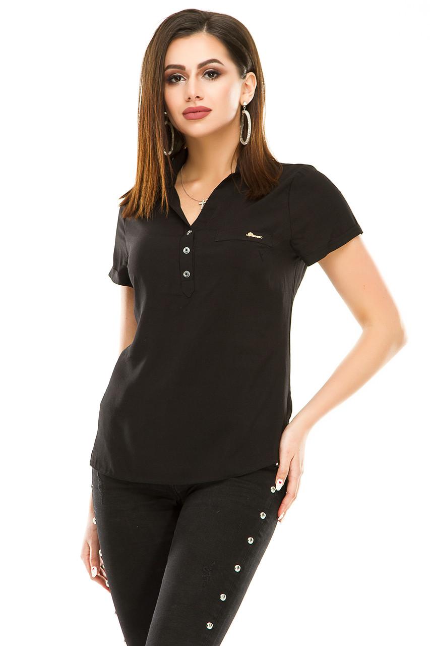 Блузка 299 черная