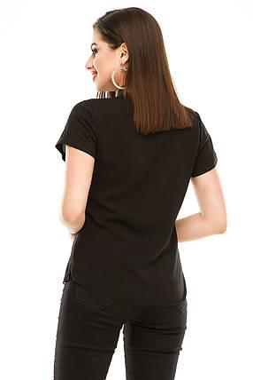 Блузка 299 черная, фото 2