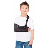 Косыночная повязка для детей с фиксатором /бандаж для руки детский/ поддерживающий с фиксатором, тип 611-0