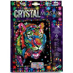 """Алмазная живопись для детей CRYSTAL MOSAIC, """"Тигр"""""""