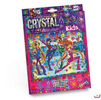 """Алмазная живопись для детей """"CRYSTAL MOSAIC KIDS"""", """"Феи Винкс"""""""
