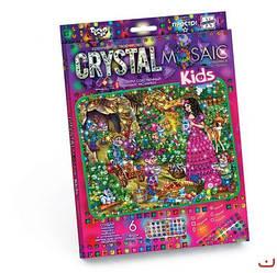 """Алмазная живопись для детей CRYSTAL MOSAIC KIDS, """"Белоснежка"""""""