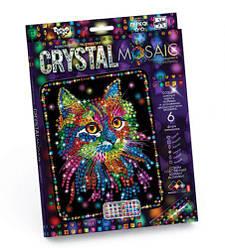 """Алмазная живопись для детей """"CRYSTAL MOSAIC"""", """"Котенок"""""""