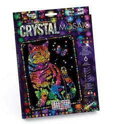 """Алмазная живопись для детей """"CRYSTAL MOSAIC"""", """"Кот"""""""