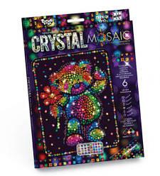 """Алмазная живопись для детей """"CRYSTAL MOSAIC"""", """"Мишка"""""""