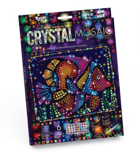 """Алмазная живопись для детей """"CRYSTAL MOSAIC"""", """"Рыбка"""""""