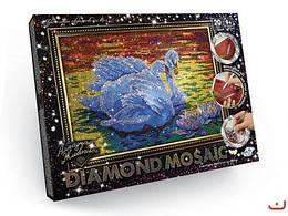 """Алмазная живопись """"DIAMOND MOSAIC"""", """"Лебедь"""""""