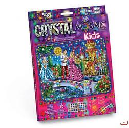 """Алмазная живопись для детей """"CRYSTAL MOSAIC KIDS"""", """"Золушка"""""""