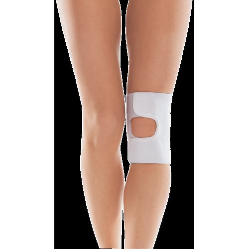 Бандаж коленного сустава / с открытой чашечкой / Тип 513 Белый