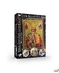 "Алмазная вышивка ""DIAMOND MOSAIC"", ""Икона Святого Николая Чудотворца"""