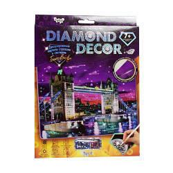 """Алмазная живопись для детей """"Diamond Decor: Тауэрский мост"""""""