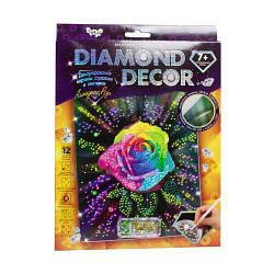 """Алмазная живопись для детей и взрослых """"Diamond Decor: Алмазная роза"""""""
