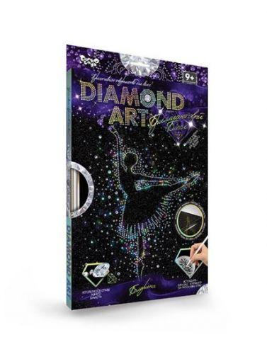 """Алмазная живопись для детей и взрослых """"DIAMOND ART"""", """"Балерина"""", DAR-01-01"""
