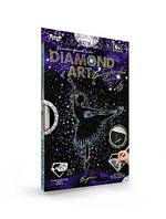 "Алмазная живопись для детей ""DIAMOND ART"", ""Балерина"", DAR-01-01"