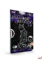 """Алмазная живопись для детей """"DIAMOND ART"""", """"Кот"""", DAR-01-08"""