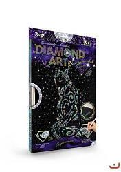"""Алмазная живопись для детей и взрослых """"DIAMOND ART"""", """"Кот"""", DAR-01-08"""