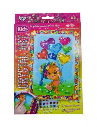 """Алмазная живопись для детей """"CRYSTAL ART KIDS: Мишка"""" CArt-01-05"""