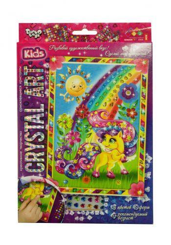 """Алмазная живопись для детей """"CRYSTAL ART KIDS: Пони"""" CArt-01-07"""