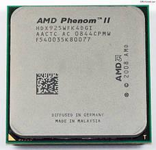 Процессор AMD Phenom II X4 925 2.8GHz, 95W, + термопаста GD900