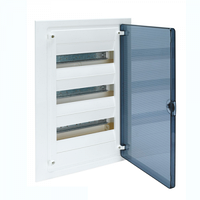 Щит распределительный на 36 модулей, прозрачная дверца (3х12), GOLF Hager (VF312TD)