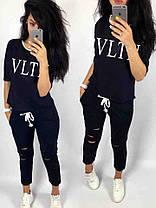 Модный костюм VLTN, размеры от 42 до 56, Турция, фото 2
