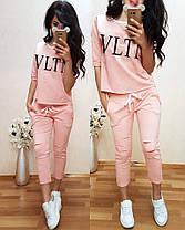 Модный костюм VLTN, размеры от 42 до 56, Турция, фото 3