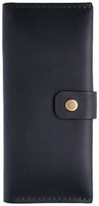 Мужской кошелек из кожи AP черный (954846490)