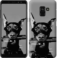 Чехол Endorphone на Samsung Galaxy A8 2018 A530F Доберман 2745c-1344-18675 (2745-1344)