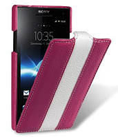Чехол для Sony Xperia S LT26i - Melkco Jacka limited leather case