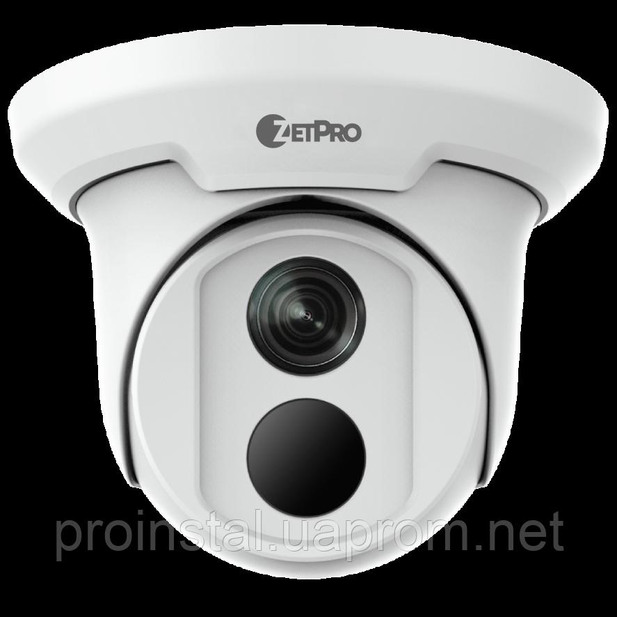 Купольна вулична IP-камера 4.0 Mp ZIP-3614ER-DPF28