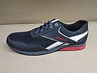 84bffaeb Мужские кожаные кроссовки в стиле Reebok с сеткой больших размеров  46.47.48.49.50