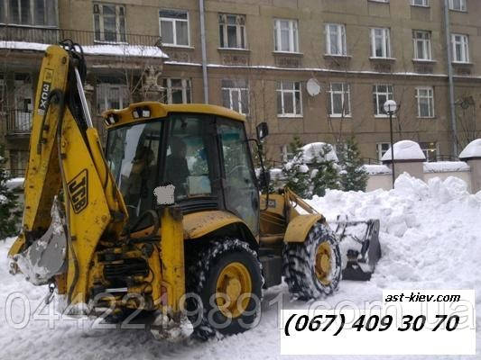 Уборка снега в Киеве Киев