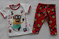 Детская одежда оптом Турция.туника с бриджами на девочку 1,2,3 года