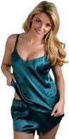 Шелковый комплект: маечка и шортики из шелка. Любой размер и цвет по Вашему желанию. Опт и розница.