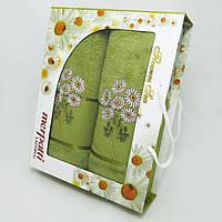 Подарочный набор махровых полотенец, фото 1