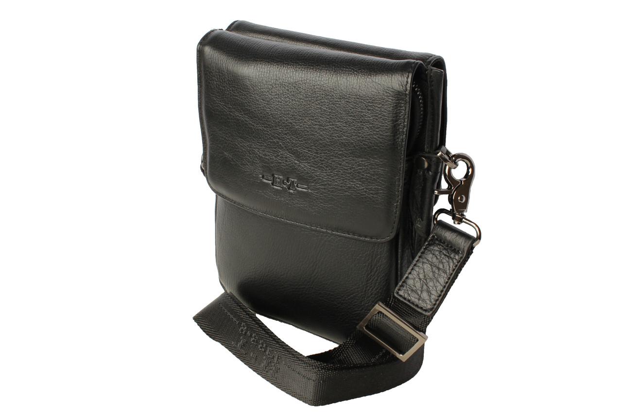 69b8d21e35c4 Купить Сумка мужская черная натуральная кожа HT 5043-5 в Харькове от ...