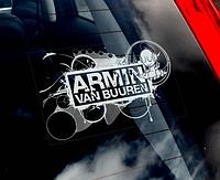 Armin van Buuren наклейка на стекло авто