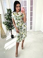 Платье женское с ярким принтом, фото 1