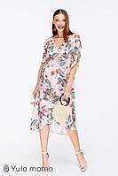 Платье для беременных и кормящих SHARLEN DR-29.092, розовое с принтом*, фото 1