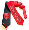 """Атласный галстук с вышивкой """"Любозар"""""""