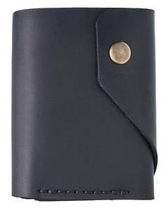 Мужской кошелек из кожи AP черный (954878361)