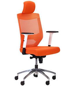 Кресло Anesi White, Alum, orange/orange