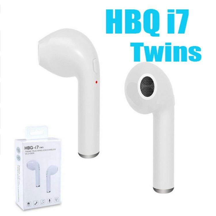 Наушники Bluetooth HBQ i7R TWS с док-станцией  - чистый звук