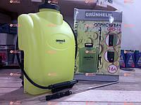 Аккумуляторный опрыскиватель Grunhelm GHS-16, фото 1