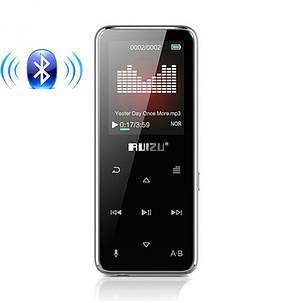 MP3 Плеер RuiZu X16 16Gb Bluetooth Original Серебро, фото 2