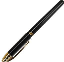 Ручка шариковая Flair 743G черная  Writometer Gold 10км