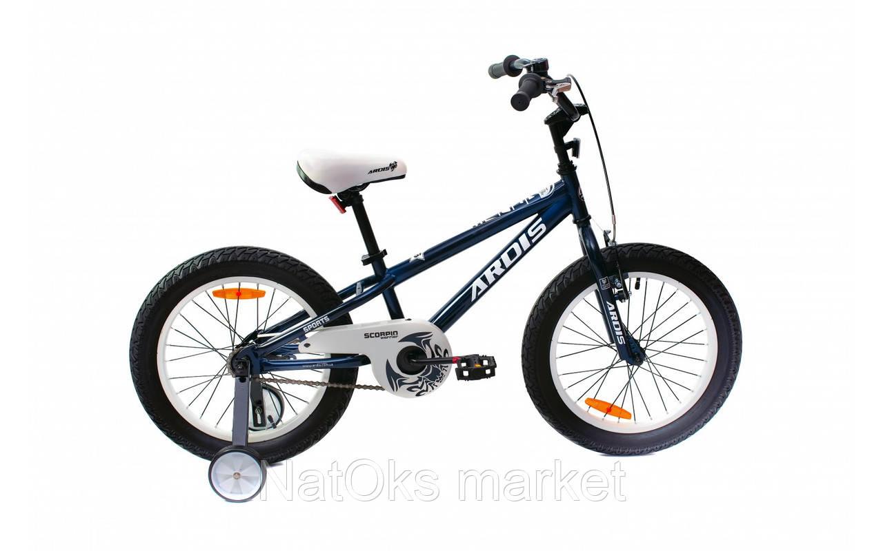 """Велосипед Ardis 18"""" BMX ST """"SCORPIO"""" Черный"""