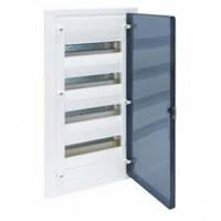Щит распределительный на 72 модулей, прозрачная дверца (4х18), GOLF Hager (VF418TD), фото 1