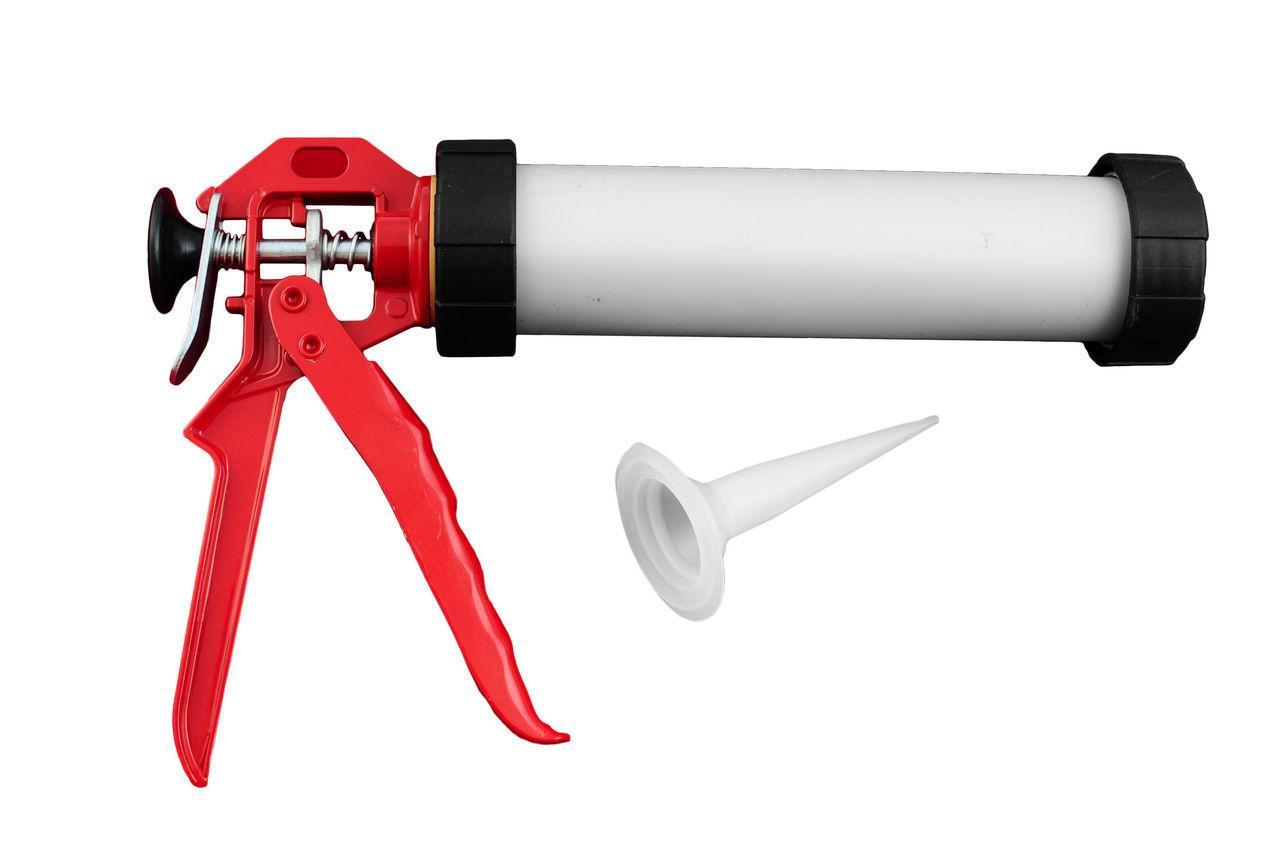 Пистолет для силикона Intertool - тубус, 225 мм х 420 мл