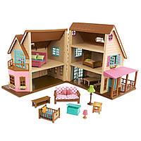 Игровой набор Li'l Woodzeez Большой коттеджный дом (6192Z)